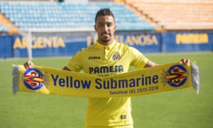 Salem Al-Dawsari is presented by Villarreal last January. He helped the team to draw with Real Madrid from 2-0 down.