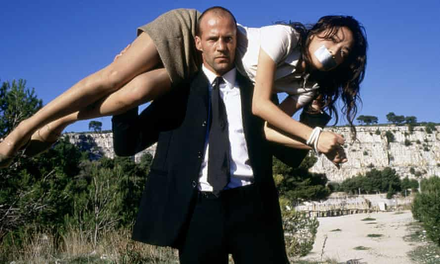 A very particular set of rules ... Statham with Shu Qi in The Transporter. Photograph: Allstar Collection/20 Century Fox