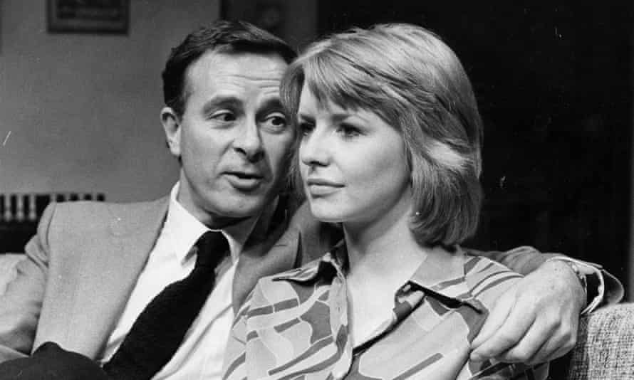 'My trouble is that I am a man of no convictions – at least I think I am': Alec McCowen with Jane Asher in Christopher Hampton's The Philanthropist at the Royal Court Theatre, London, 1970.