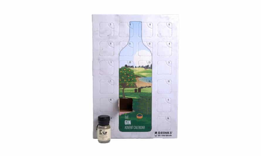 The Gin Explorers advent calendar