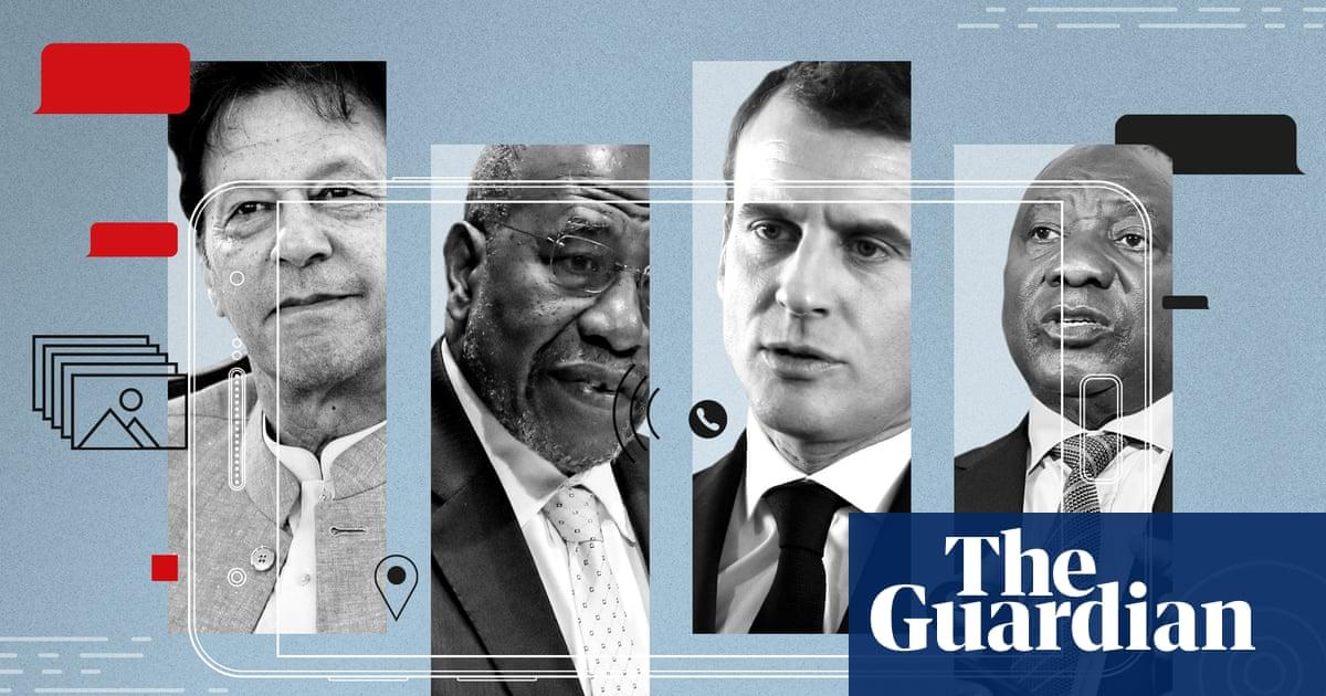 Emmanuel Macron identified in leaked Pegasus project data