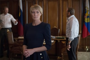 With one shove, the show traded all its tension and sexual intrigue – and it has never recovered … House of Cards.