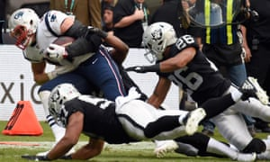 Rob Gronkowski's Patriots were comfortable winners in Mexico City