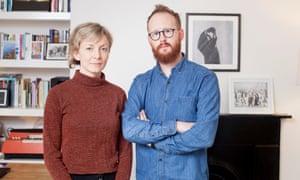 Geoffrey Taylor and his partner, Gemma Swistak
