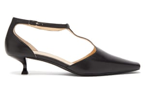 Mary Jane shoe Add a ladylike touch – and a sheer sock. £384, By Far, matchesfashion.com