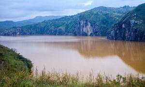 Lake Nyos, Cameroon.