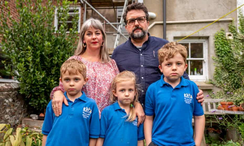 Robert and Anna Sherburn and family