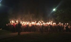 Charlottesville klan march