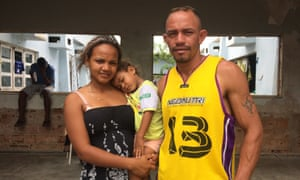 Yorquis Rísquez, a 24-year-old mother who fled into Brazil earlier this year and now lives with her family in a dilapidated squat in the city of Boa Vista.