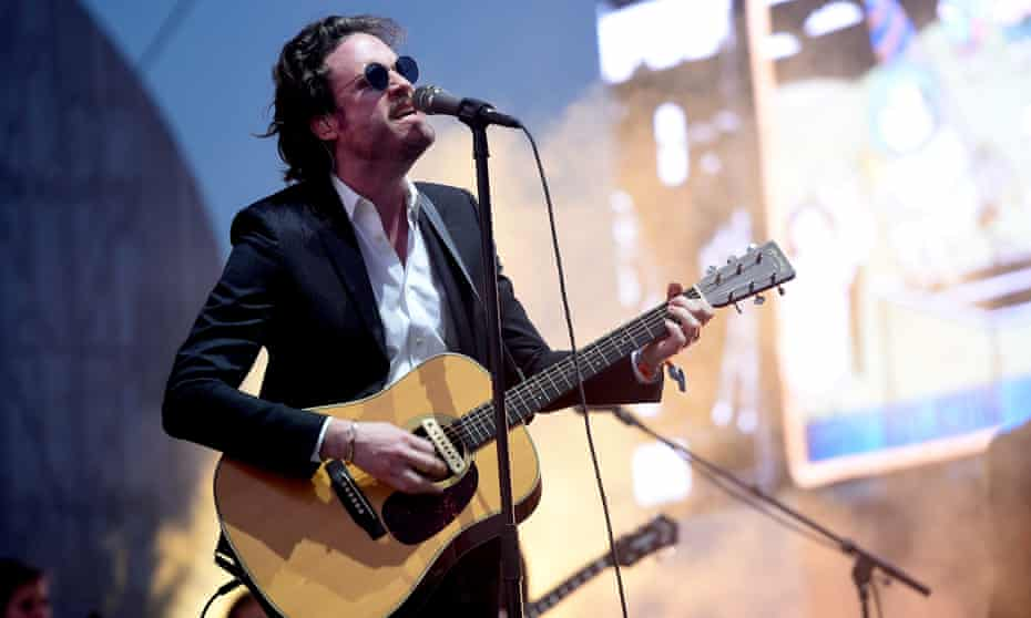 Father John Misty made the coveted sunset slot at Coachella his own with a full orchestra and theatrical performance