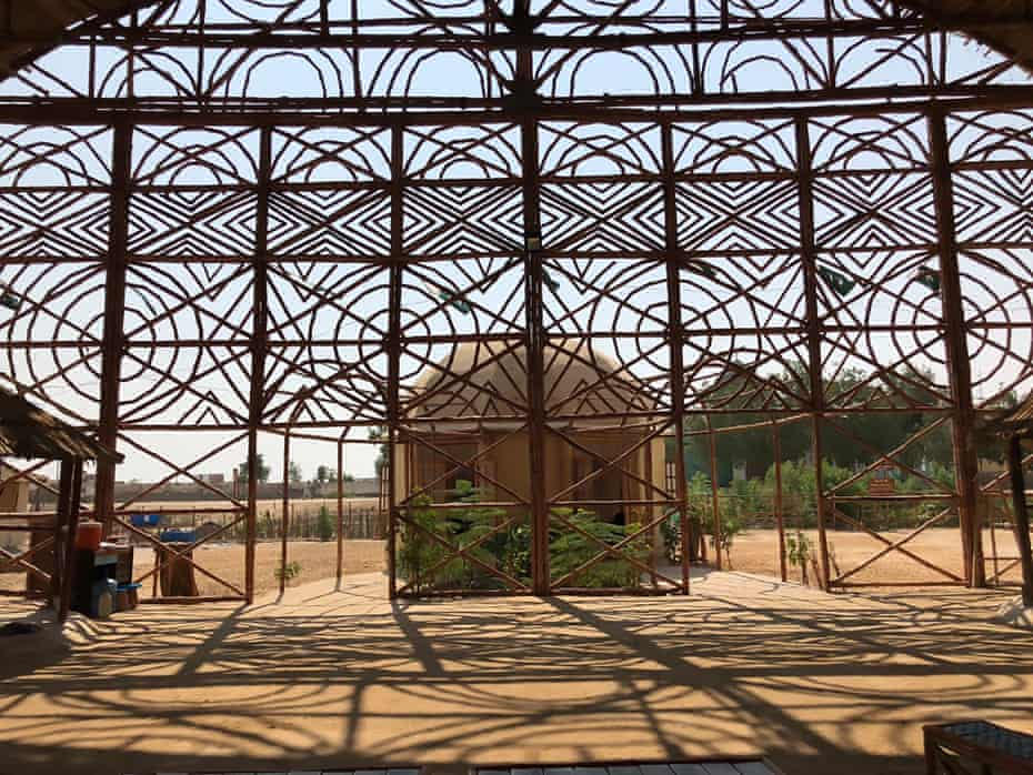 Yasmeen Lari's Zero Carbon Cultural Centre, Makli, Pakistan