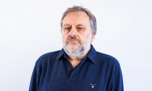 Slavoj Zizek, psychoanalytic philosopher, cultural critic, and Hegelian Marxist. H