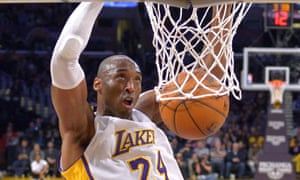 Kobe Bryant in action for the Lakers.