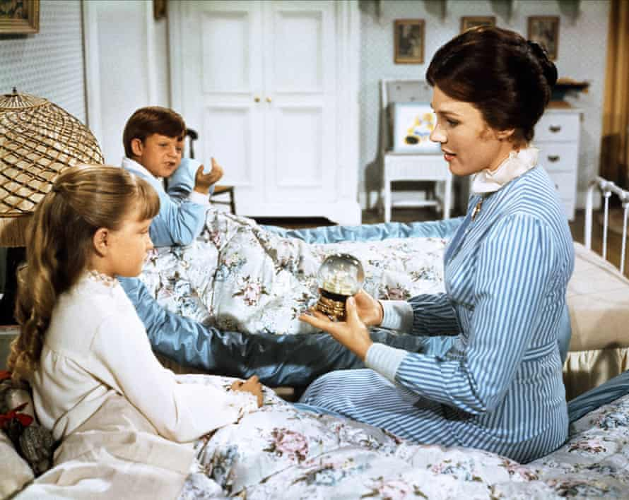 'The sweetened version of the screen'… Julie Andrews plays Mary Poppins in the 1964 film adaptation.