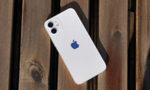 White iPhone 12
