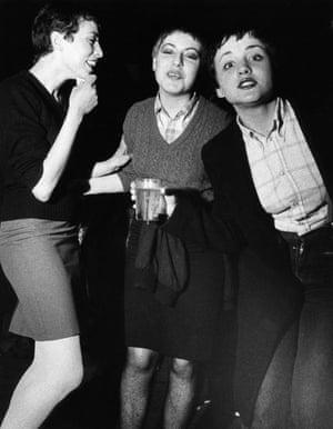 Three Skinhead girls.