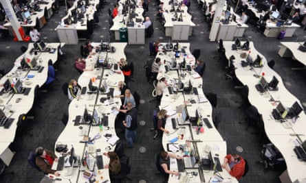 First Direct call centre in Leeds