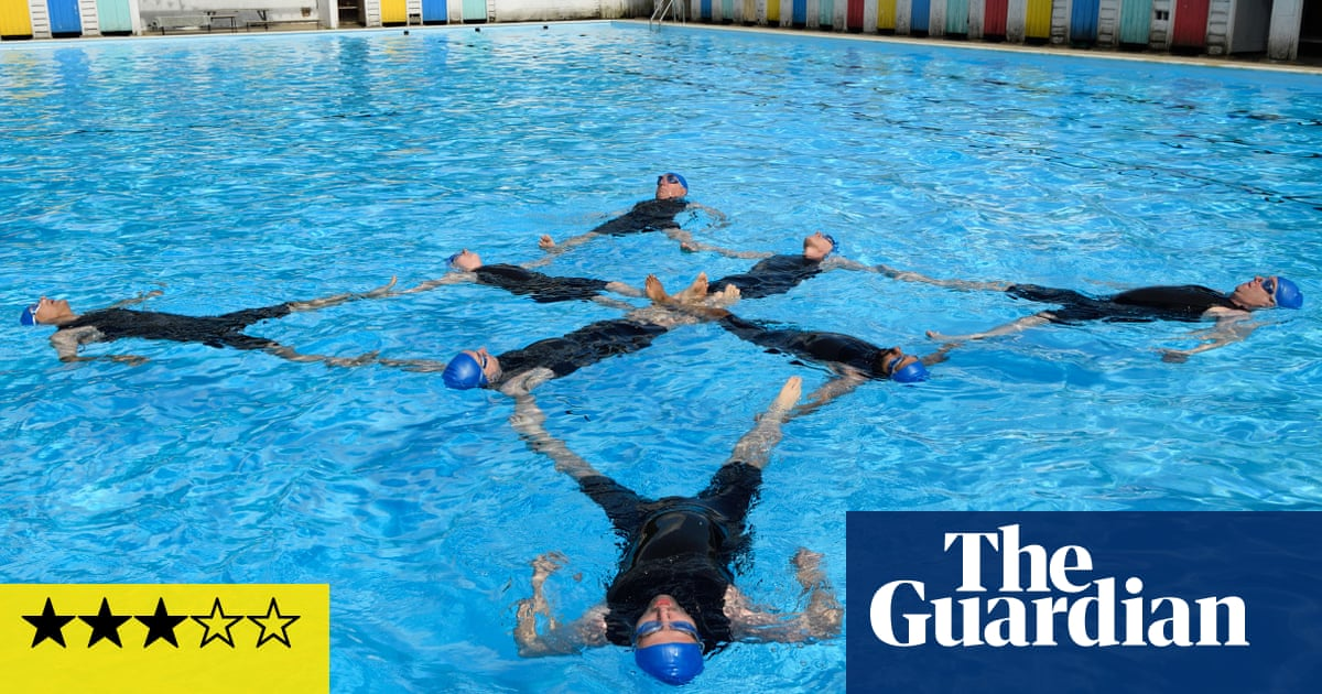 Swimming With Men Review Rob Brydon Dives In At The Deep End Film The Guardian