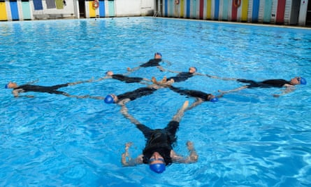 Refreshingly unselfconscious … Swimming With Men.