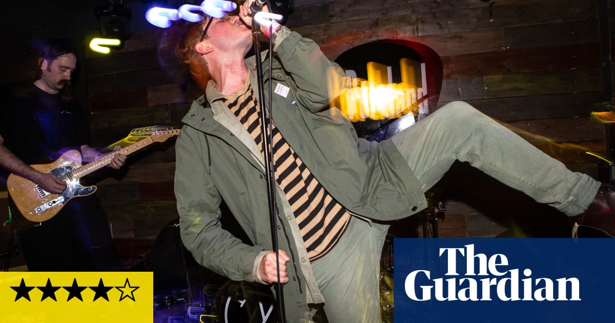 Yard Act review – spiky chroniclers of sour times