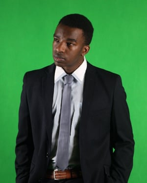 Fablice Manirakiza, winner of the Kirk Robson Award at the Australia Council Awards for recognition of his work with disadvantaged communities.