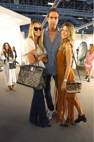 Elle MacPherson and friends check out Art Basel.