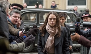 Keira Knightley in Official Secrets.