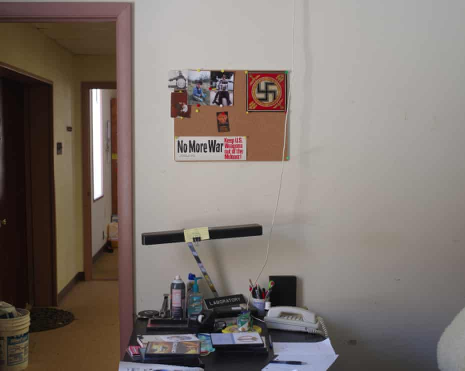 Donny MacMullen's office at the West Virginia Compound.