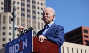 'In last week's Super Tuesday primaries in the 2020 election, older Democratic voters stampeded toward Joe Biden.'