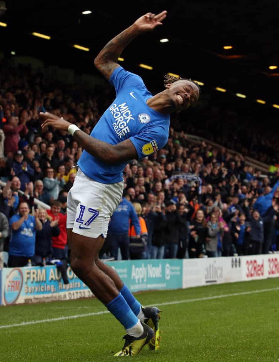 Ivan Toney has been prolific for Peterborough