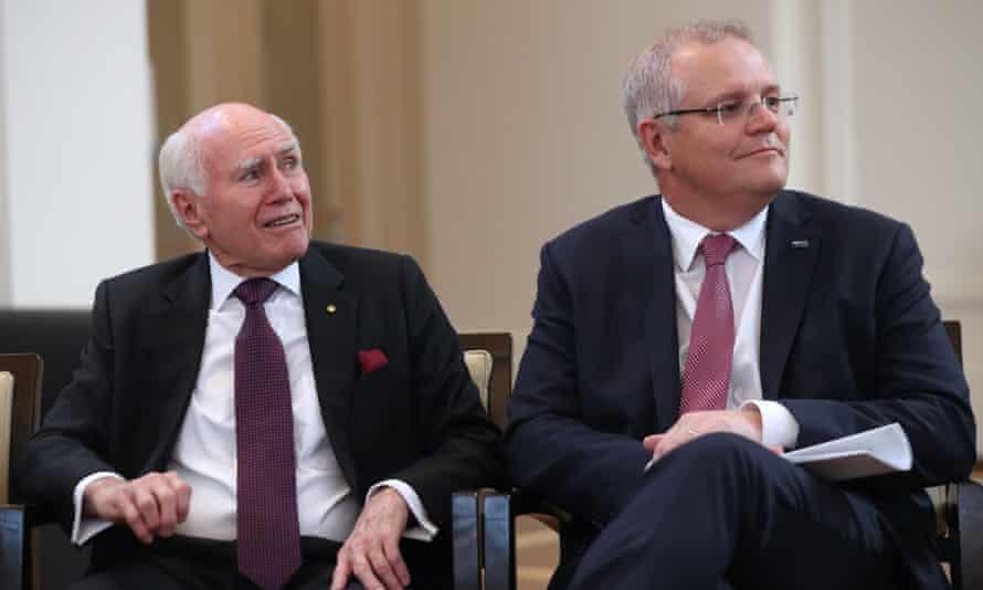 John Howard and Scott Morrison