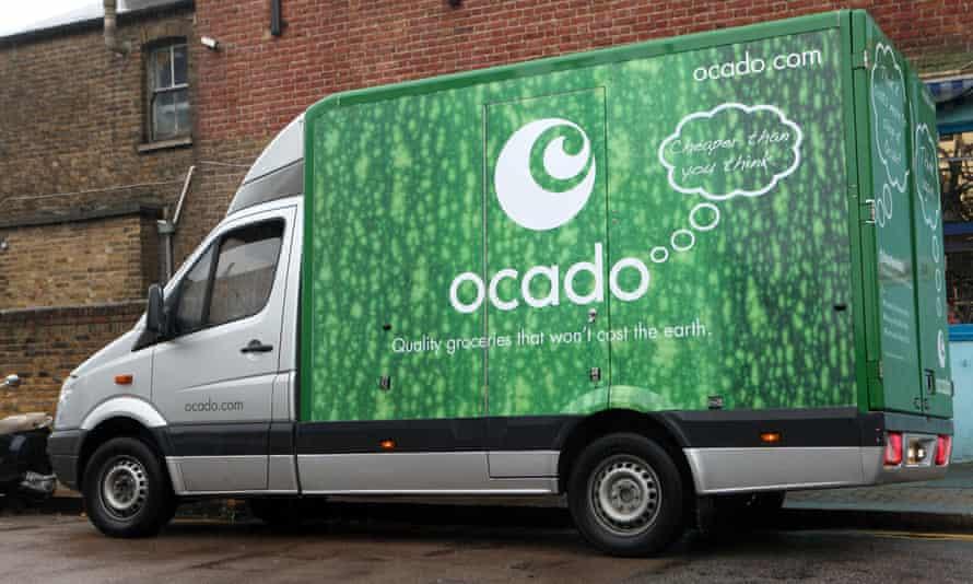 Ocado deliver van