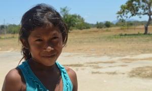 Denislania da Silva, who was born in northern Brazil on the eve of the 2009 Copenhagen climate summit.