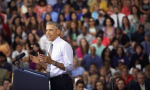 Obama did not mention Trump or Clinton by name but displayed how he is likely to be a formidable weapon for his fellow Democrat during the general election.