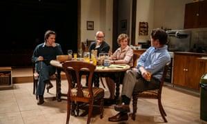 Paul Chahidi (Bill Rodgers), Roger Allam (Roy Jenkins), Debra Gillett (Shirley Williams) and Tom Goodman-Hill (David Owen).