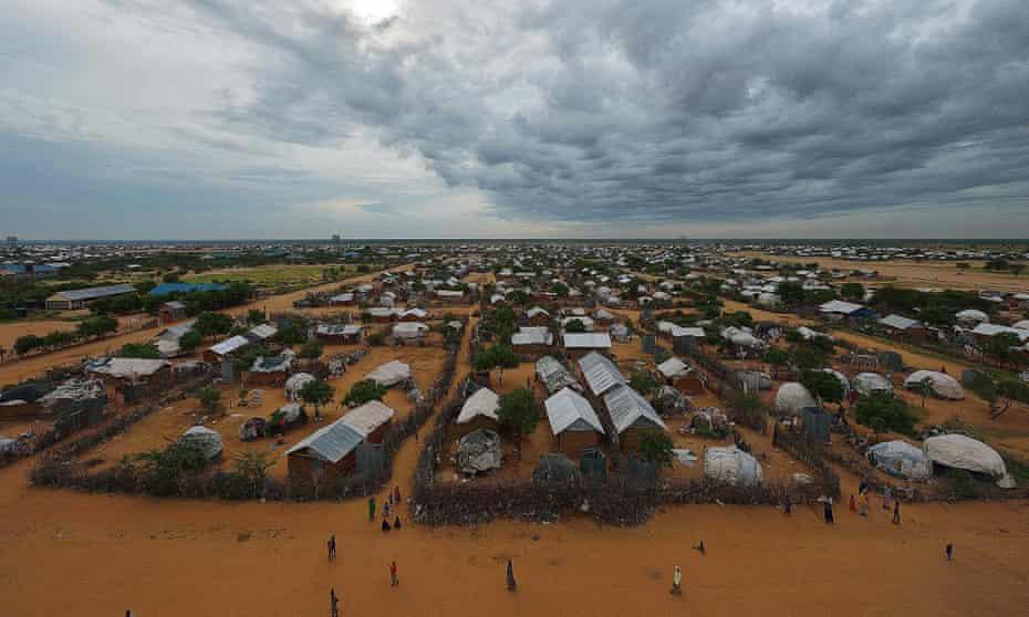 Dadaab refugee camp, north of the Kenyan capital Nairobi, in April 2015.