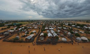 A view of the Dadaab refugee camp in Kenya