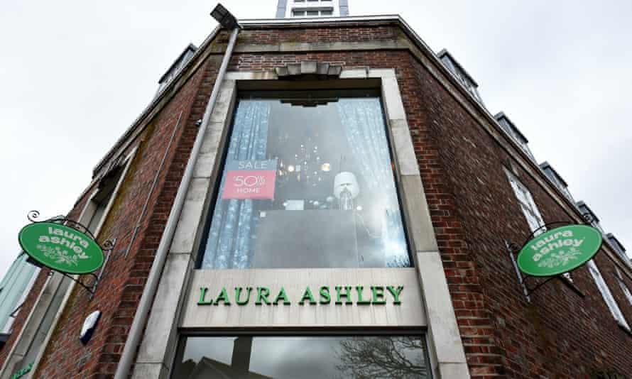 Laura Ashley said Covid-19 had an immediate impact on trading.