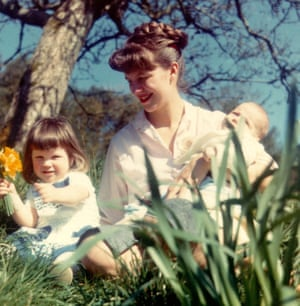 Sylvia Plath with her two children, Nicholas and Frieda, April 1962