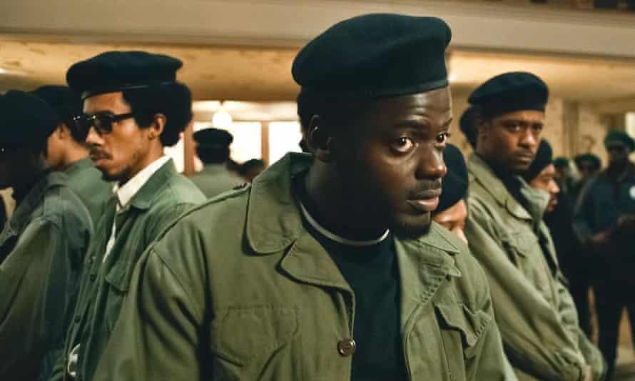 Daniel Kaluuya as Fred Hampton in Judas and the Black Messiah.