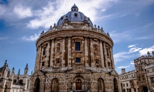 Radcliffe Camera library at the University of Oxford.