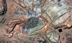 Escondida copper mine