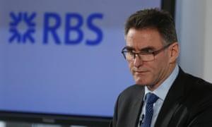 Ross McEwan, CEO of Royal Bank of Scotland (RBS).