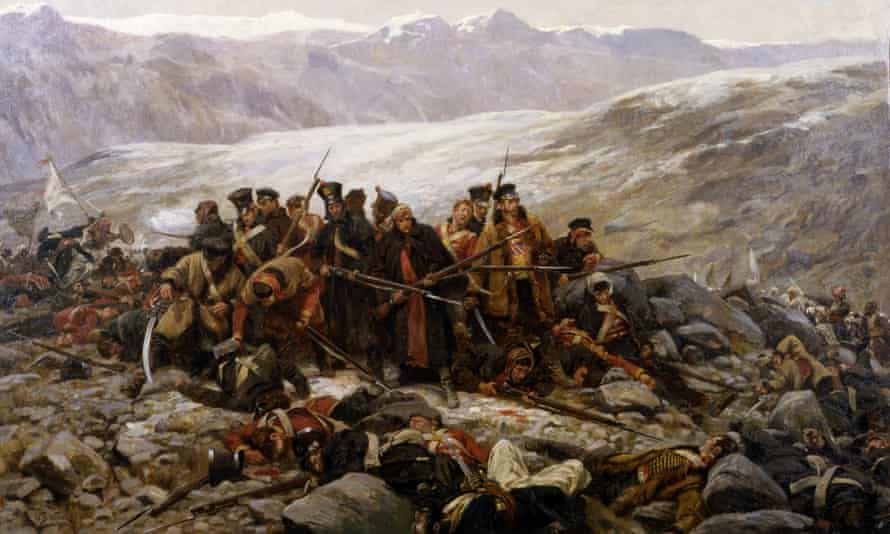 The Last Stand of the 44th at Gundermuck, by William Barnes Wollen