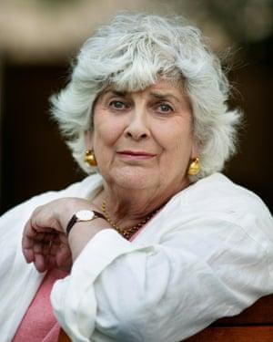 Writer Elizabeth Jane Howard in 2003.