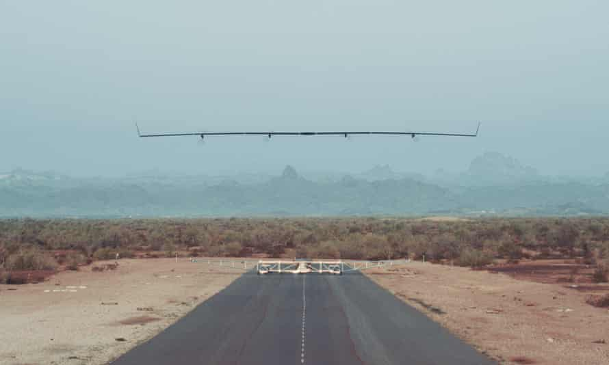 The Aquila drone.