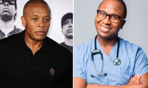 Dr Dre, left, and Dr Drai (AKA Draion M Burch) … which to approach for medical advice?