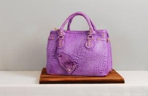 A rendering of a snakeskin bag by Elisa Strauss