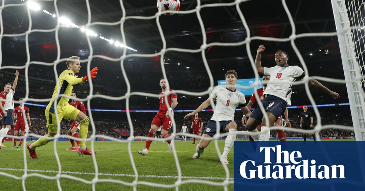 Stones saves England against Hungary on a night of violence at Wembley