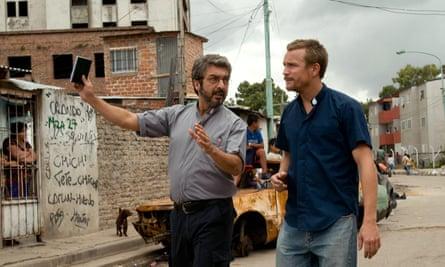 Ricardo Darín (left) in the film White Elephant.